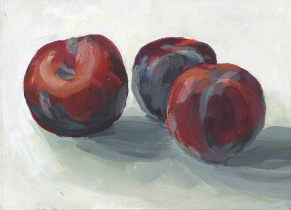 Plums by Carrie Arnold