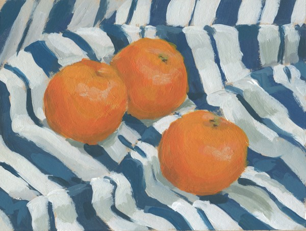 Three Clementines by Carrie Arnold