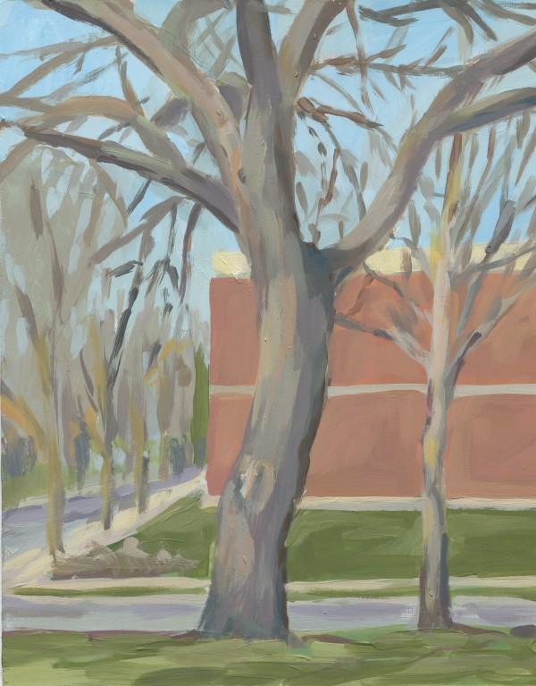Walnut Tree Plein Air by Carrie Arnold