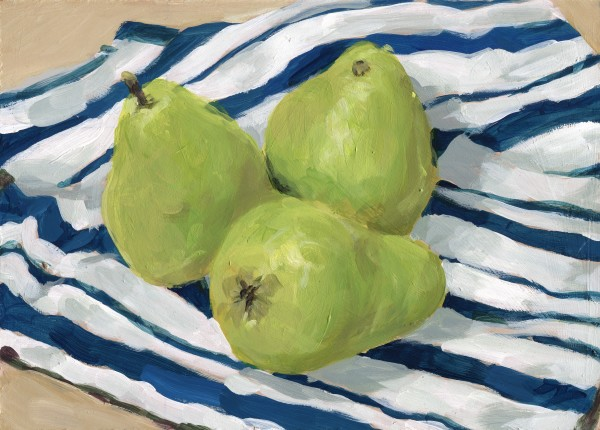 Three Pears by Carrie Arnold