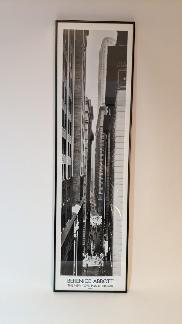 NYC Narrow Street* by Berenice Abbott