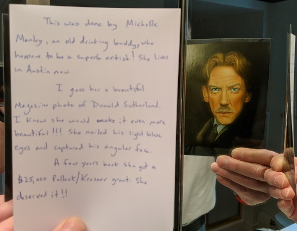 Donald Sutherland - notes by Michelle Manley
