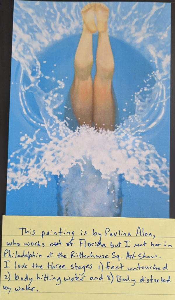 Splash - notes by Pavlina Alea