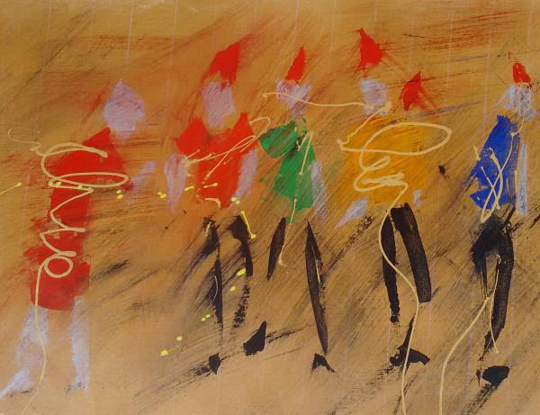 吉莉安·雷德伍德的《疯狂行走》