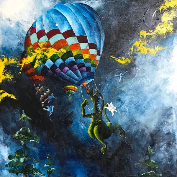 Up Up And Away-Giclée by Jacinthe Lacroix