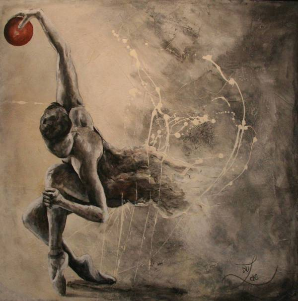 Supreme Motion-Giclée by Jacinthe Lacroix