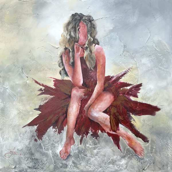 When In Doubt Wear Red-Giclée by Jacinthe Lacroix