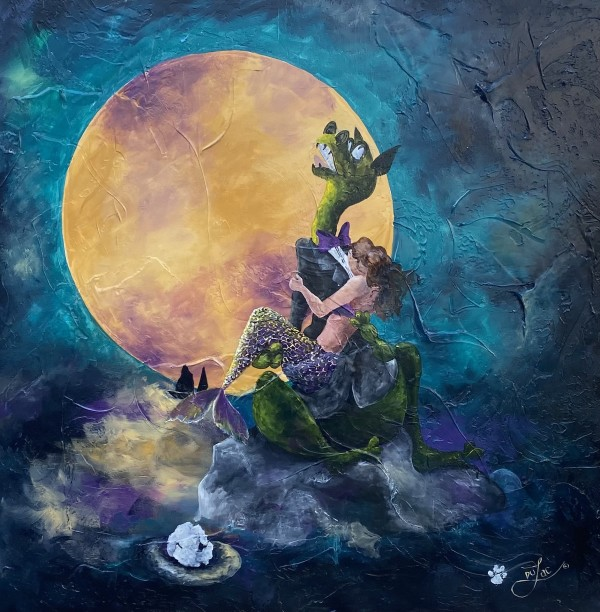 Moonlight Serenade by Jacinthe Lacroix