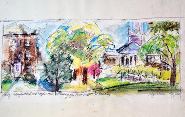 Tillinghast Hall by Roger Dunn