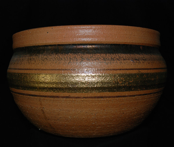 Tan Bowl by John Heller