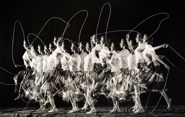 Moving Skip Rope by Harold Edgerton