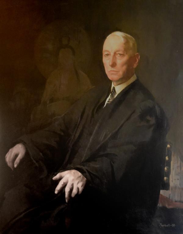 Portrait of Judge Hayden by Edmund Tarbell