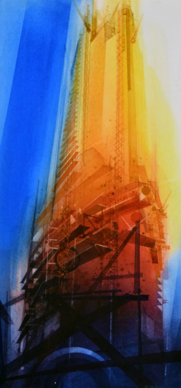 Skyscraper Construction by Donald Stoltenberg