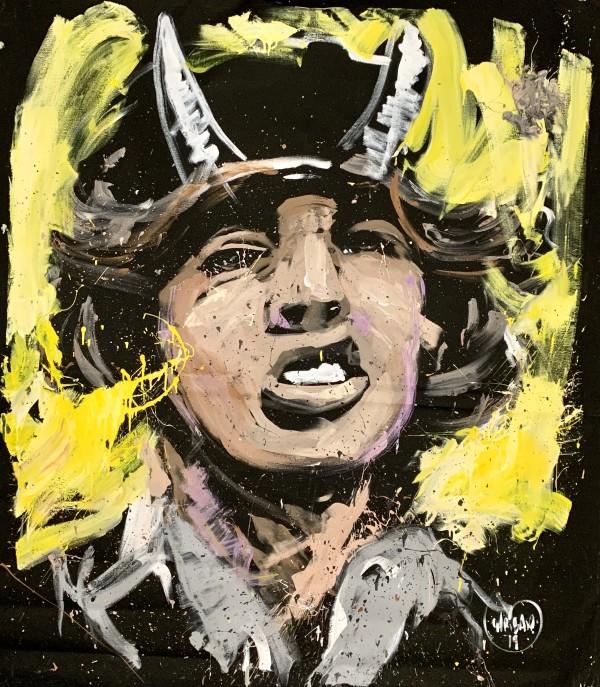 Angus Young - Chicago by David Garibaldi