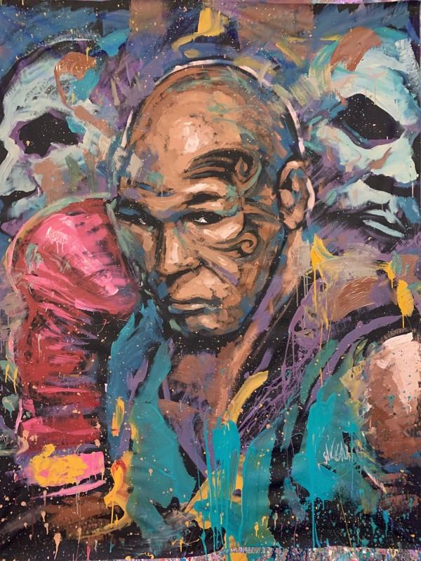 Mike Tyson by David Garibaldi
