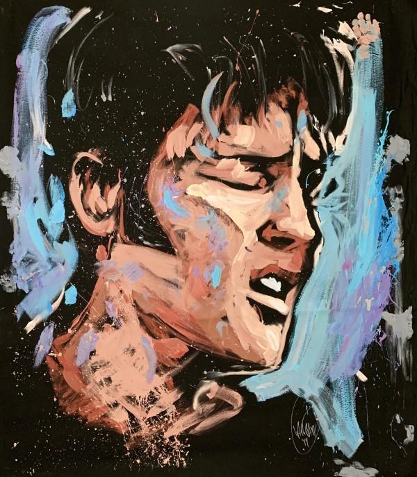 Elvis Presley - Bossier City by David Garibaldi