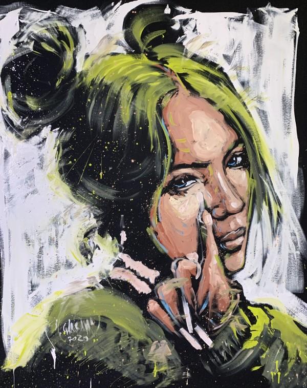 Billie Eilish by David Garibaldi