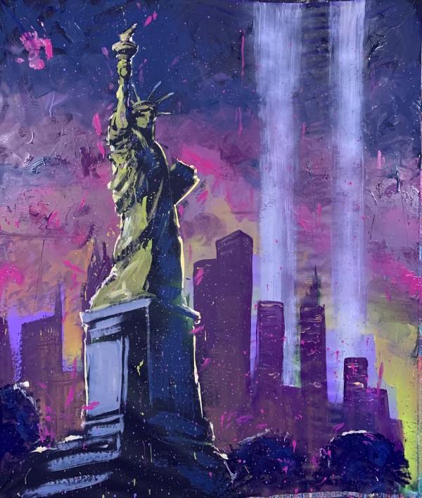 9/11 Lights by David Garibaldi