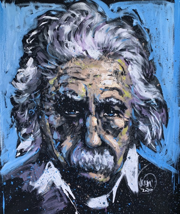 Einstein by David Garibaldi