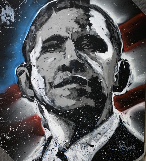Barack Obama White House by David Garibaldi