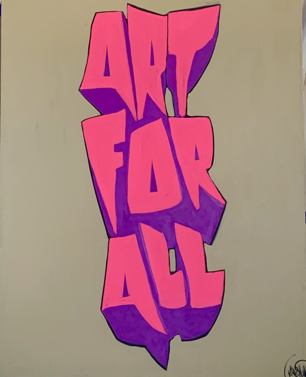 Art For All Letters by David Garibaldi