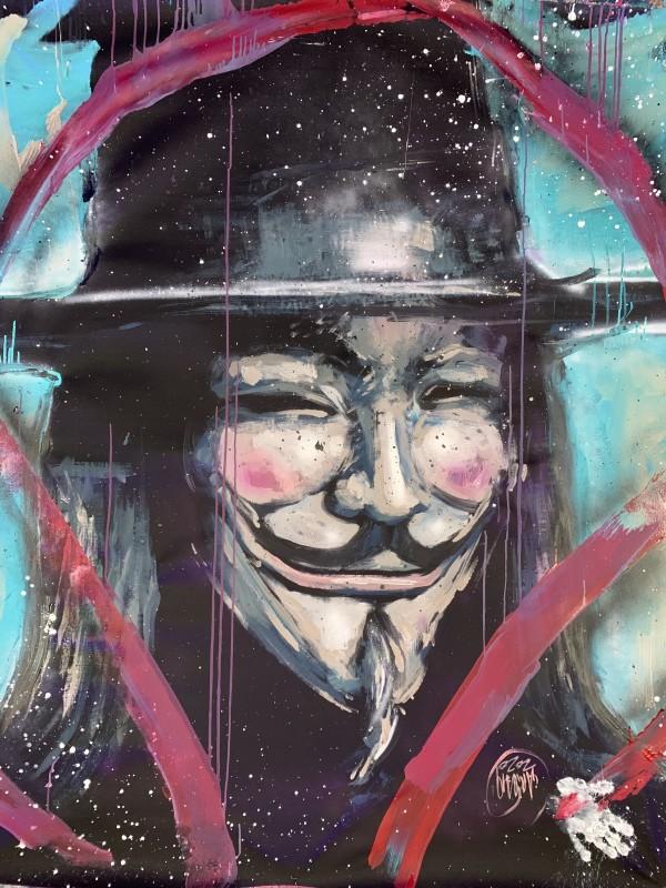 V For Vendetta by David Garibaldi