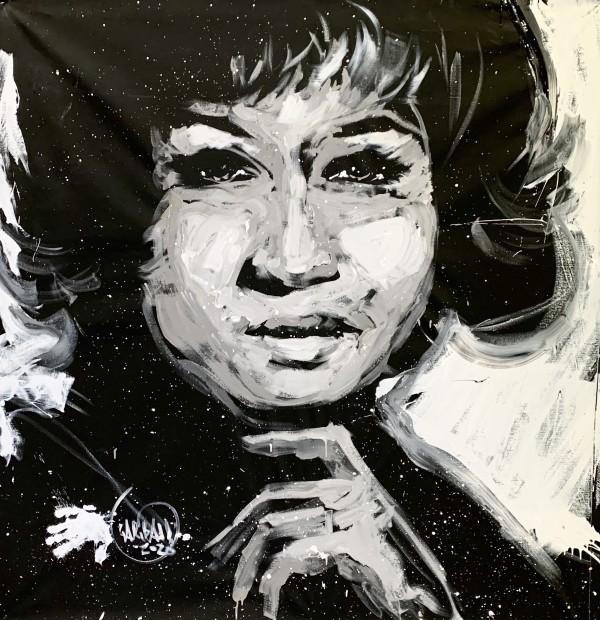 Aretha Franklin by David Garibaldi