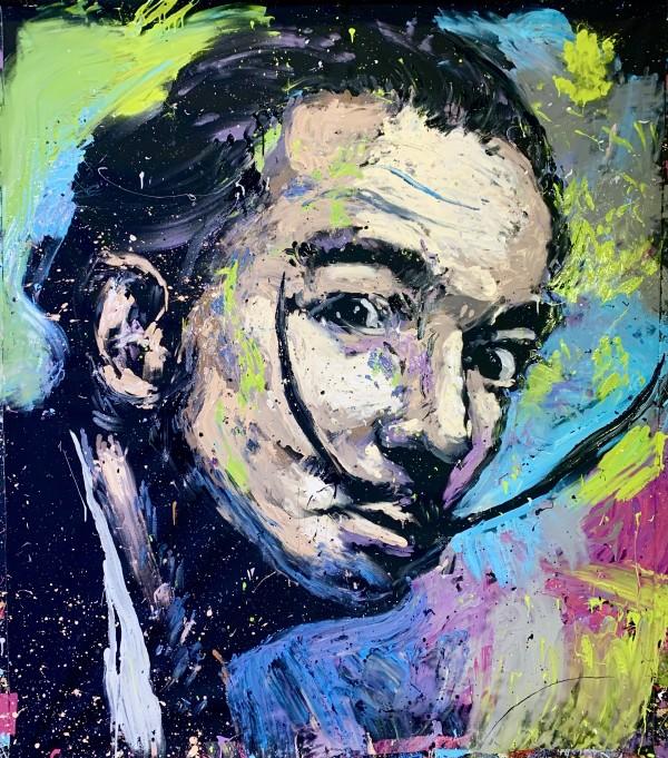 Salvador Dali by David Garibaldi
