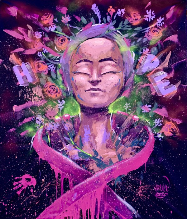 HOPE:  Breast Cancer Awareness by David Garibaldi