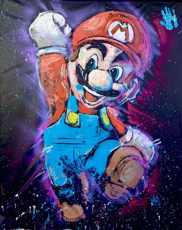 Super Mario by David Garibaldi