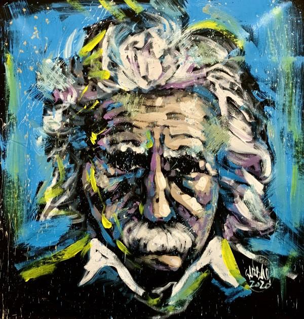 Einstein Study by David Garibaldi