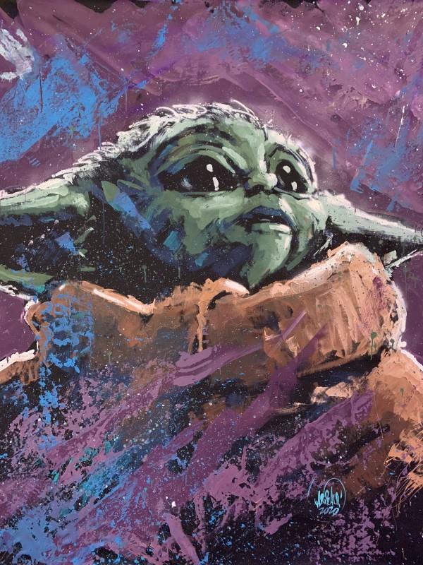 Baby Yoda by David Garibaldi