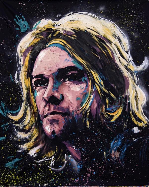 Kurt Cobain by David Garibaldi