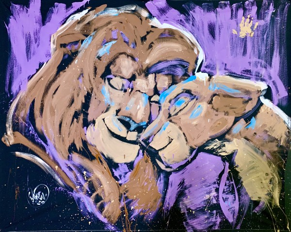 Lion King by David Garibaldi