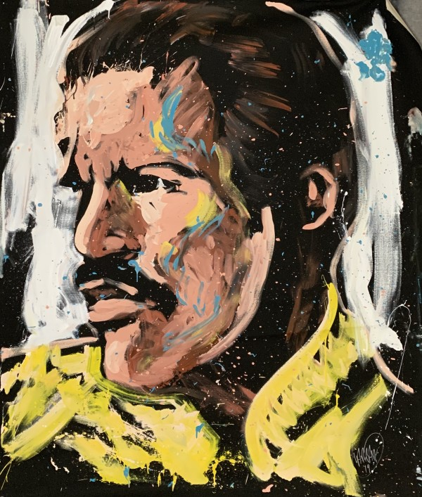 Freddie Mercury - San Antonio by David Garibaldi