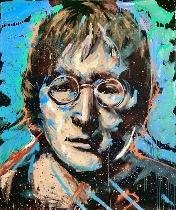 John Lennon by David Garibaldi