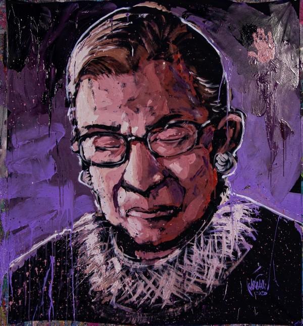 Ruth Bader Ginsburg by David Garibaldi
