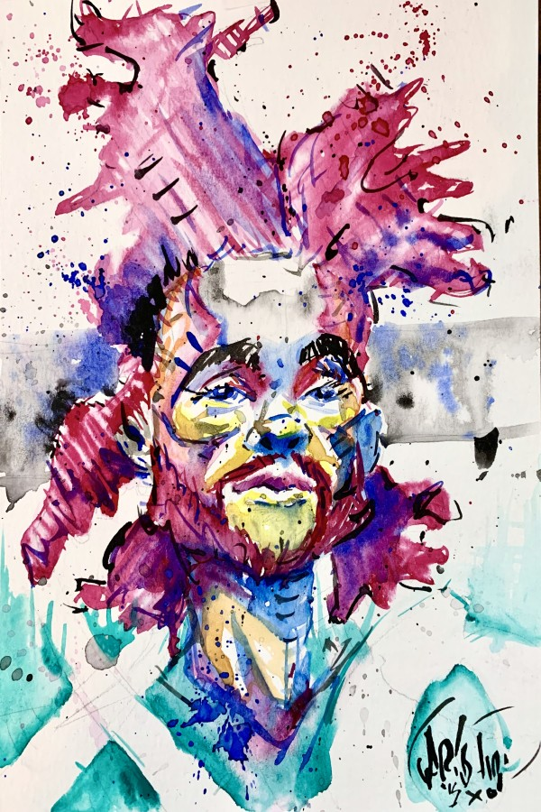 Weeknd Color by David Garibaldi