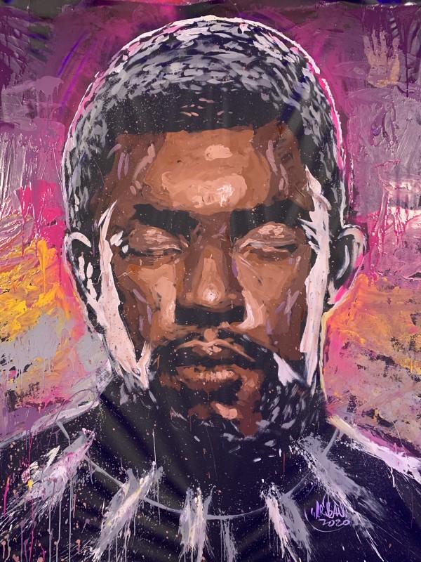 Chadwick Boseman - Black Panther by David Garibaldi