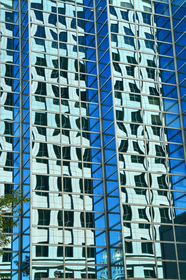 Concrete Reflections by Rick Perkins