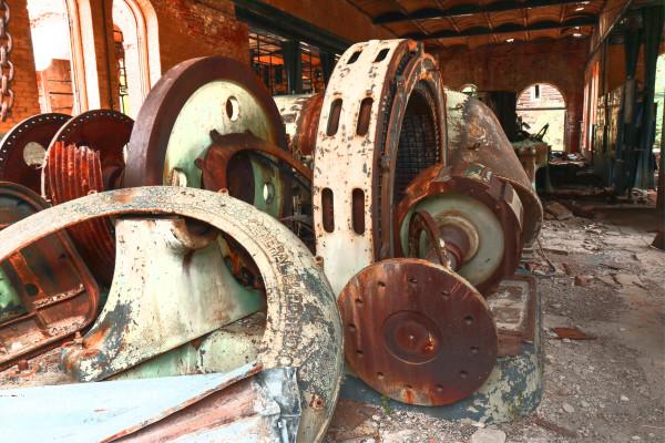 Forgotten Machines by Rick Perkins