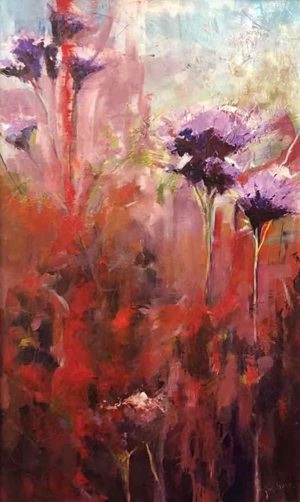 Aflame by Judy McSween