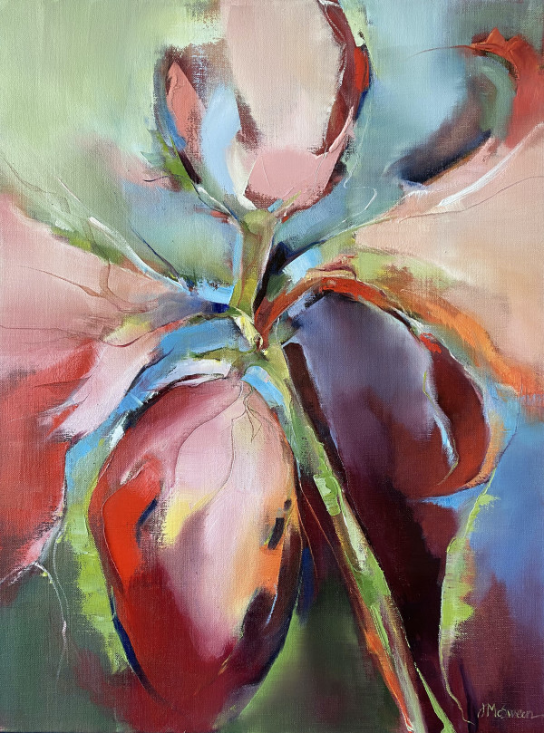 Amaryllis  Glow by Judy McSween