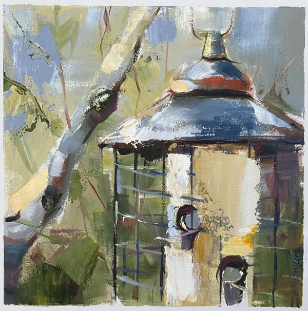 Bird Feeder by Judy McSween