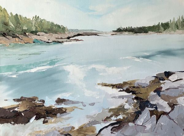 Lower Harbor Trail by Judy McSween