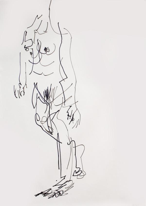 Walking Nude by Karimah Hassan