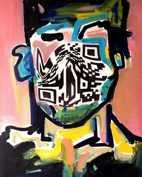 QR Man by Karimah Hassan