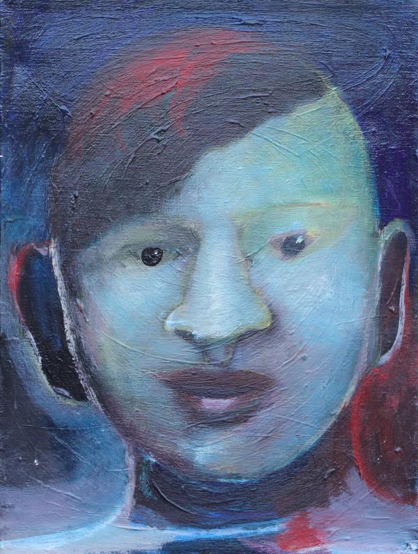 1272 Little Round Face by Judy Gittelsohn