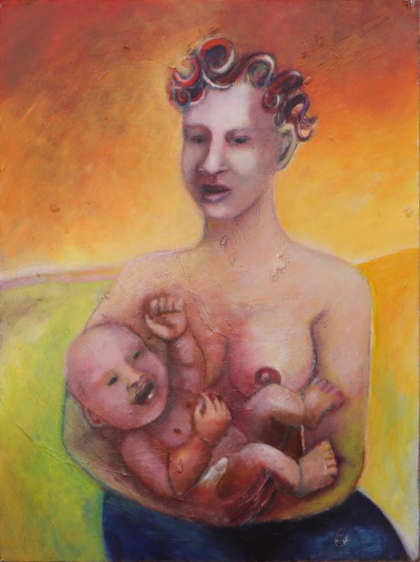 1346 Mother and Child by Judy Gittelsohn