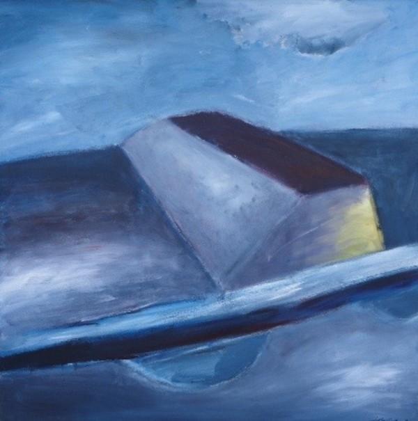 1012 Blue El Camino  by Judy Gittelsohn